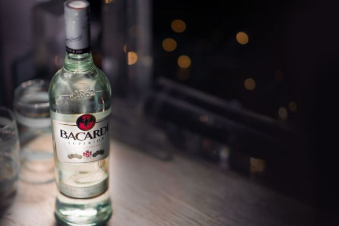 Bacardi White, Gold